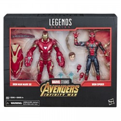 Marvel Legends 80th Set Iron Spider & Iron Man 15 cm