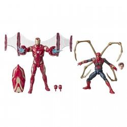 Marvel Legends 80th Set Iron Spider & Iron Man 15 cm