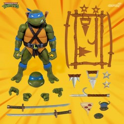 Les Tortues ninja figurine Ultimates Leonardo 18 cm