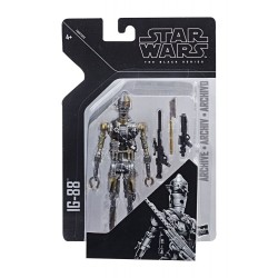 "Figurine Star Wars Black Series 6"" Archive IG-88"