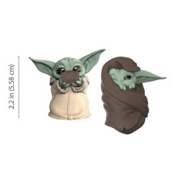 Star Wars Mandalorian Bounty Collection pack 2 figurines The Child Sipping Soup & Blanket-Wrapped
