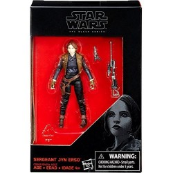 "Figurine Star Wars Black Series 3/75"" Jyn Erso"