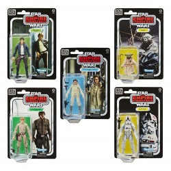 Star Wars Episode V Black Series 40th Anniversary 2020 Wave 1 assortiment figurines 15 cm