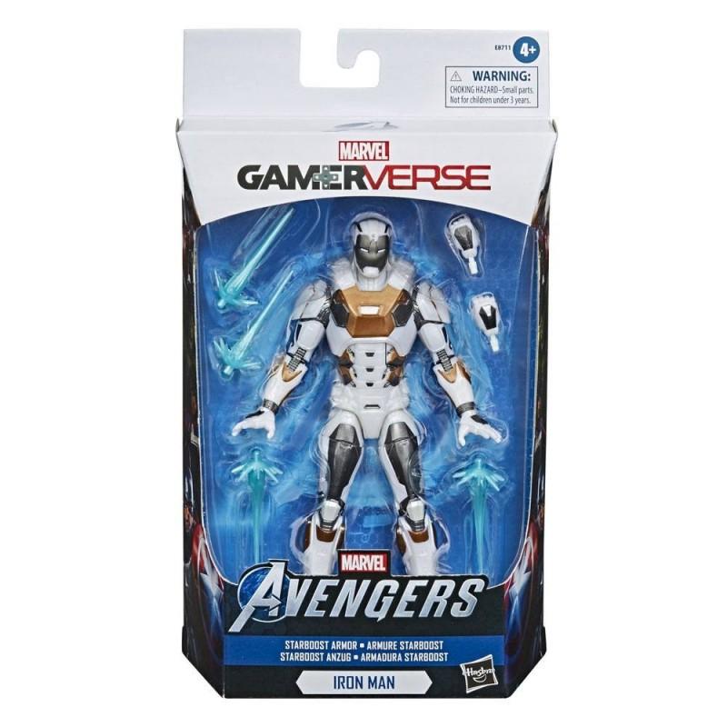 Avengers Video Game Marvel Legends Series Gamerverse figurine Iron Man (Starboost Armor) 15 cm