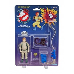 Ghostbusters Figurine Retro Kenner 13 cm  Ray Santz & Wrapper Ghost