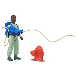 Ghostbusters Figurine Retro Kenner 13 cm Winston Zeddemore & Chomper Ghost