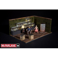Walking Dead jeu de construction Governor Room Set