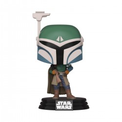 Star Wars The Mandalorian Figurine POP! TV Vinyl Covert Mandalorian 9 cm