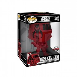 Star Wars Super Sized POP! Vinyl figurine Boba Fett (Red) 25 cm