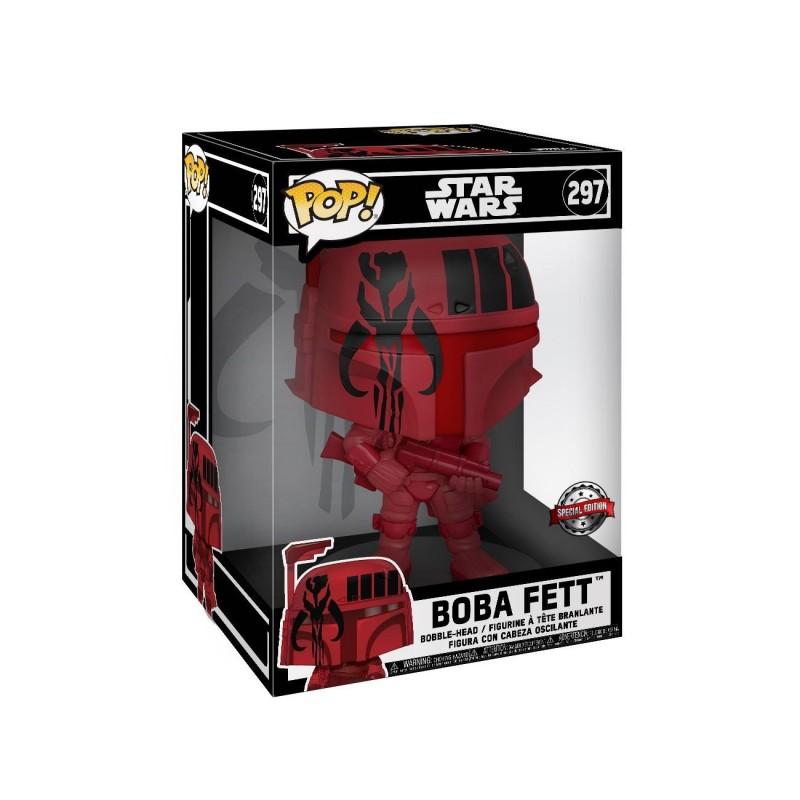 Star Wars Super Sized POP! Vinyl figurine Boba Fett (Red) 25 cm