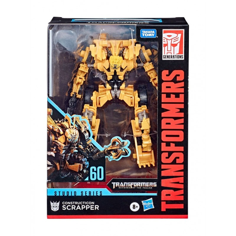 Transformers Studio Series Voyager Class 2020 Wave 2 Construction Scrapper