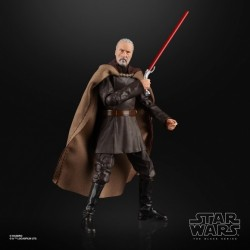 Figurine Star Wars Black Series 15cm Conte Dooku Hasbro Pré-commandes