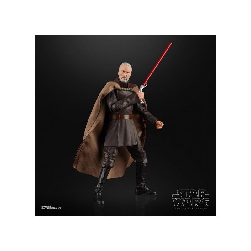 Figurine Star Wars Black Series 15cm Conte Dooku Hasbro Pré-commandes