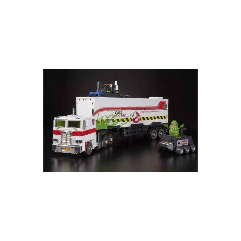 Transformers SDCC 2019 Optimus Prime X Ghostbusters Mp10G Ecto 35cm
