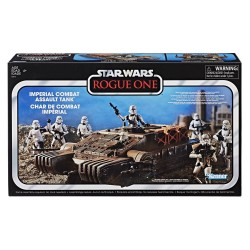 Star Wars Rogue One Black Series Vintage 3 3/4-inch véhicule Imperial Combat Assault Tank