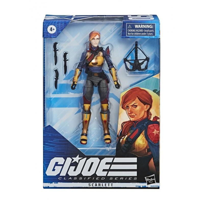 G.I. Joe Classified Series 2020 15cm  Wave 1 Scarlett