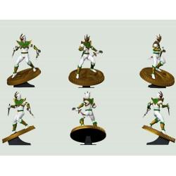 Mighty Morphin Power Rangers statuette PVC Lord Drakkon 23 cm