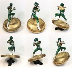 Mighty Morphin Power Rangers statuette PVC Green Ranger 23 cm