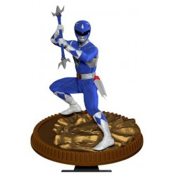 Mighty Morphin Power Rangers statuette PVC Blue Ranger 23 cm