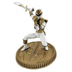 Mighty Morphin Power Rangers statuette PVC White Ranger 23 cm