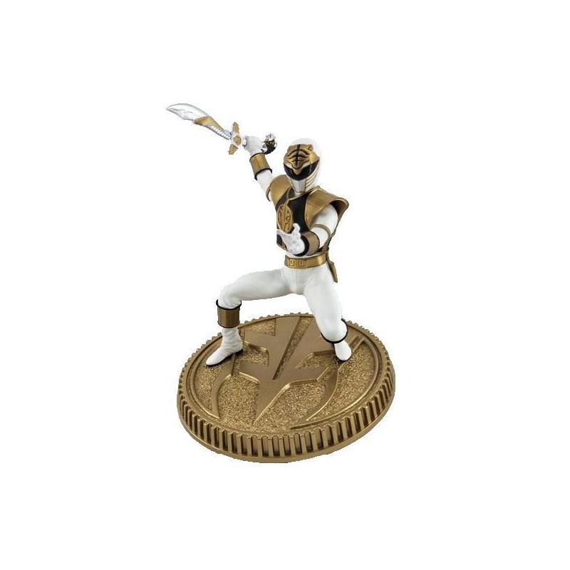 Mighty Morphin Power Rangers statuette PVC White Ranger 23 cm