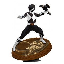 Mighty Morphin Power Rangers statuette PVC Black Ranger 23 cm