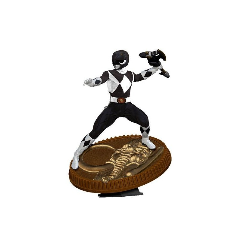 Mighty Morphin Power Rangers statuette PVC Black Ranger 23 cm