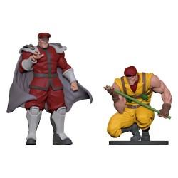 Street Fighter statuettes PVC 1/8 Bison & Rolento
