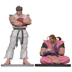Street Fighter statuettes PVC 1/8 Ryu & Dan