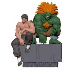Street Fighter statuettes PVC 1/8 Fei & Blanka