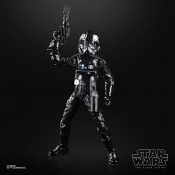 Figurine Star Wars ESB 40TH Black Series  Tie Fighter Pilot 15cm