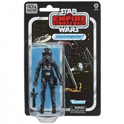 Figurine Star Wars ESB 40TH Black Series  Tie Fighter Pilot 15cm