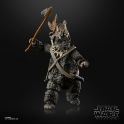 "Figurine Star Wars Black Series 6"" Teebo Ewok"