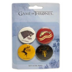 Game Of Thrones pack 4 badges