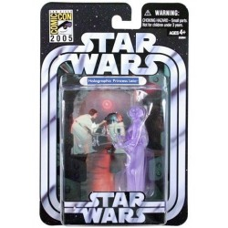 Figurine Star Wars SDCC 2005 Holographic Pincess Leia 10 cm