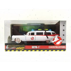 Ghostbuster Voiture 1/32  Ecto-1 1959 Cadillac  Jada Toys