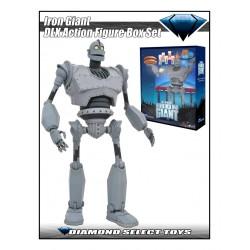 Le Géant de Fer figurine Deluxe Box Set Iron Giant SDCC 2020 Exclusive