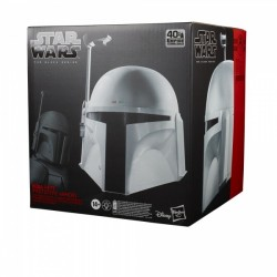 Star Wars Episode V Black Series casque électronique Boba Fett (Prototype Armor)
