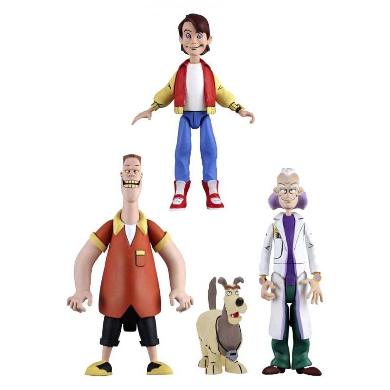 Retour vers le futur assortiment figurines 15 cm Toony Classics série 1