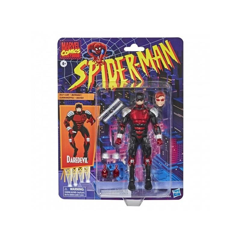 Figurine Marvel Legends Spider-Man Retro 15cm  Dardevil