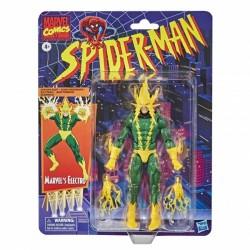 Figurine Marvel Legends Spider-Man Retro 15cm  Marvel's Elektro