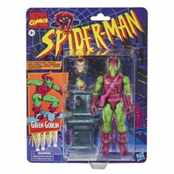 Figurine Marvel Legends Spider-Man Retro 15cm  Green Goblin