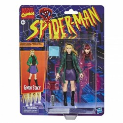 Figurine Marvel Legends Spider-Man Retro 15cm  Gwen Stacy / Mary Jane
