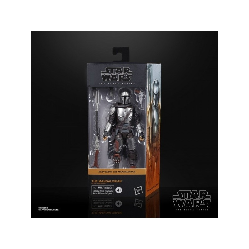 "Figurine Star Wars Black Series 6"" The Mandalorian Bescar Armor"
