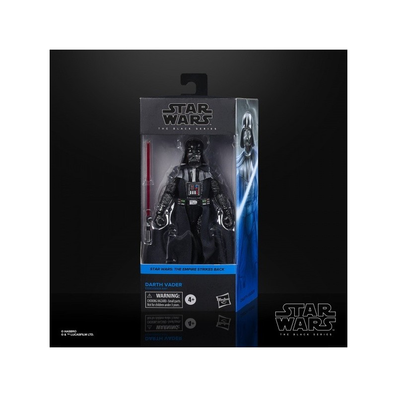 "Figurine Star Wars Black Series 6"" Darth Vader"