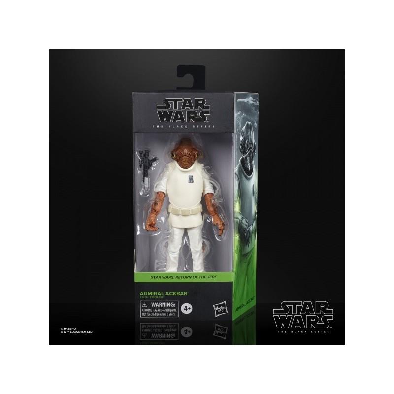 "Figurine Star Wars Black Series 6"" Admiral Ackbar"