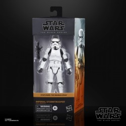"Figurine Star Wars Black Series 6"" Stormtrooper Mandalorian Series"