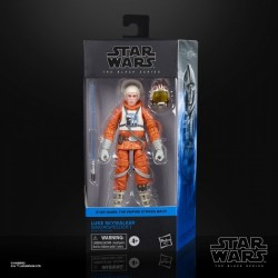 "Figurine Star Wars Black Series 6"" Luke Skywalker Pilote ESB"