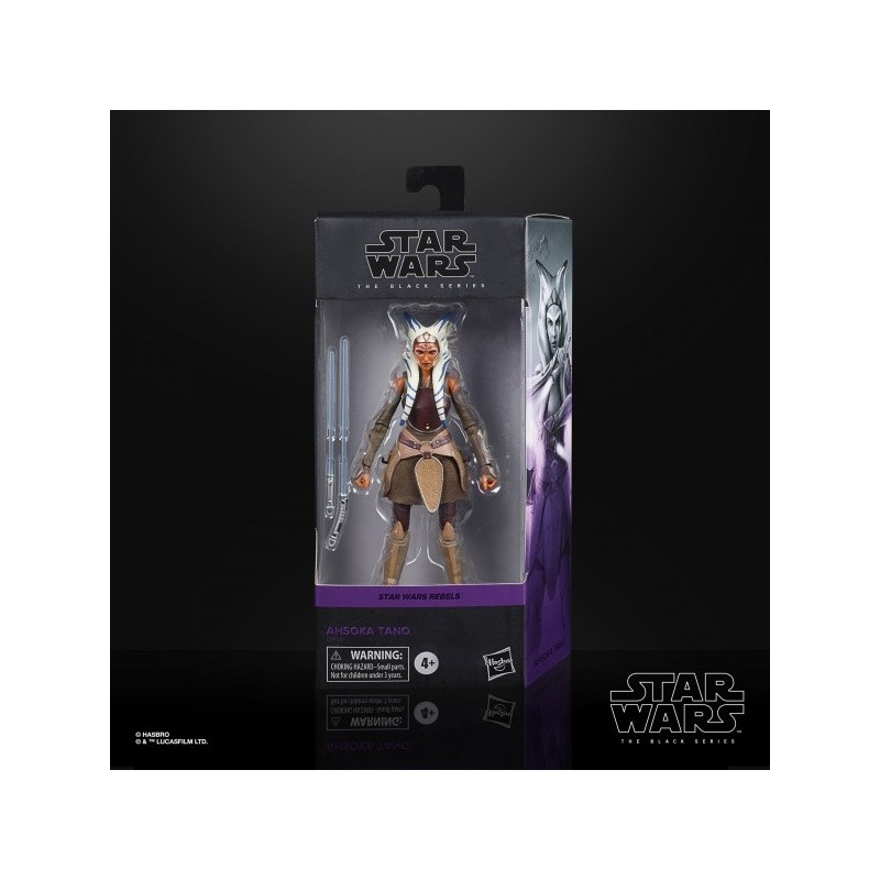 "Figurine Star Wars Black Series 6"" Ahsoka Tano"