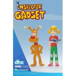 Inspecteur Gadget pack 2 figurines 1/12 Brain & Penny 11 cm